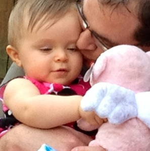 My sweet niece and her daddy.