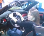 Sassy Miss at the car show. :)