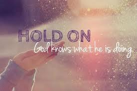 Hold Hope He is Faithful