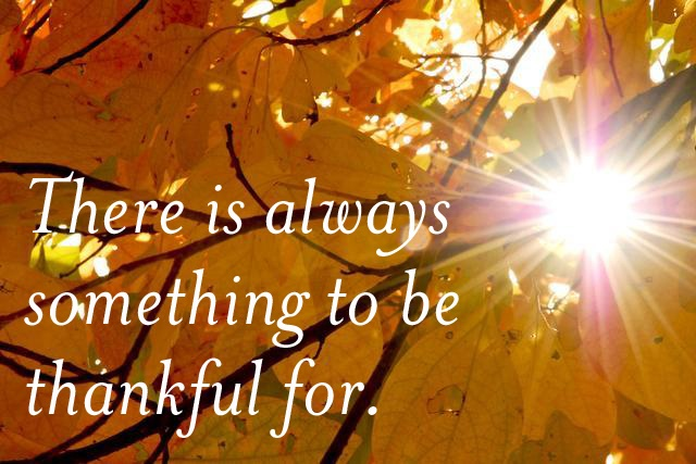 Peace in Thankfulness