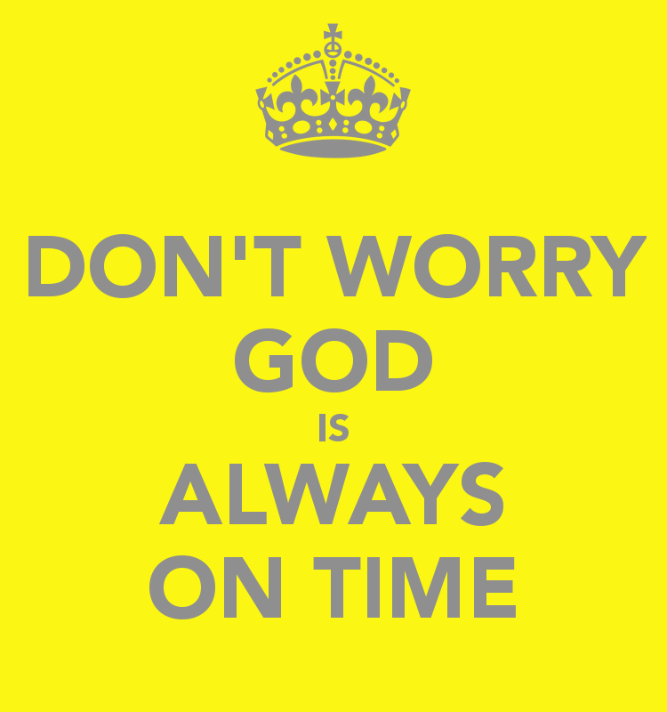 We Need Not Worry